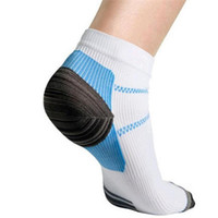 Wholesale Wholesale Unique Heels - Wholesale-Rushed Unique Plantar Fasciitis Heel Arch Pain Relieving Compression Socks Best Gift To Cool Men Boys