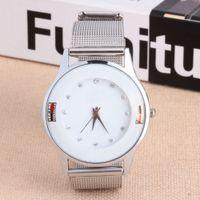 Wholesale Christmas H - Fashion TM. Brand women's men's Unisex Steel metal band quartz .H. wrist watch