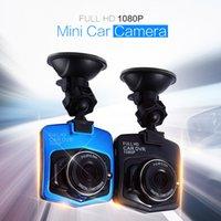 mini araç kameraları toptan satış-Araba Dvr Kamera Çizgi Kam Full HD 1080 p Park Video Kaydedici Registrator Mini Araç Kamera G-sensor gece görüş