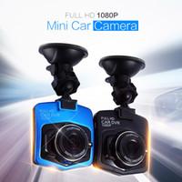 mini veículo dvr venda por atacado-Dvr Carro Câmera Traço Cam Full HD 1080 p Gravador de Vídeo de Estacionamento Registrator Mini Veículo Filmadora G-sensor de visão noturna