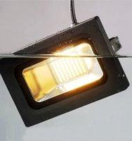 Wholesale Led Projector Reflector - LED FloodLight 100W 60W 30W 15W Reflector Led Flood Light Spotlight 220V 110V Waterproof Outdoor Wall Lamp Garden Projectors