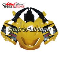 fairing thundercat 97 toptan satış-Yamaha YZF600R Thundercat 97 Için Sarı Siyah Fairing 97 98 99 00 01 02 03 04 05 06 07 1997 - 2007 Enjeksiyon ABS Plastik Tam Kaporta Gövde Kiti