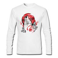 Wholesale Goddess Shirt - Unique design man shirts Goddess of red sun on tee shirts autumn winter cotton bottoming shirt