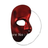 Wholesale Original Themes - Mysterious Half Face Mask The Phantom Of The Opera Theme Masks For Personal House Party 100% Original 20Pc FreeShipping
