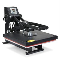 Wholesale Shirt Printer Free Shipping - Free Shipping Magnetic 15inch Heat Transfer T-Shirt Heat Press Machinery pressures to make an exact transfer on t-shirts, pants cloth