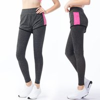 Wholesale Fitness Wear For Women - Women Sport Leggings Elastic Pants for Running Gym Fitness Dry Quick Workout Capris Gym clothing exercise and fitness wear outdoor apparel