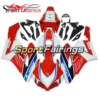 Wholesale Honda Fit Body Kits - Fairings Fit Honda CBR1000RR Year 04 05 2004 2005 ABS Motorcycle Fairing Kit Bodywork Motorbike Cowling White Red Body Kit Fittings