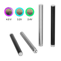 Wholesale Electronic Slim Cigarette - Wholesale cbd battery 350mah pre-heat battery 5 click on-off slim variable voltage battery electronic cigarette battery