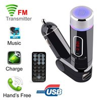Wholesale Led Display Controller Card - FM28B Bluetooth Car FM Transmitter Modulator MP3 Music Player Handsfree With USB SD Card Reader MMC Slot Remote Controller LED Display Auto