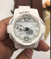 Wholesale Sport Fashin - High quality Girl fashin baby watches LED All Pointer Work Hiking G sprts watches women 110 Waterproof automatic watch Original Box