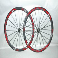 Wholesale Bike Carbon Wheel Clincher - New hot sale brand AWST full Carbon wheels TC35 23mm width 3k matte finish Carbon Fiber Wheels Clincher Road Bike Wheelsets