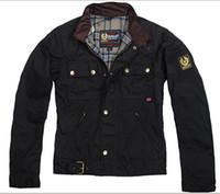 Wholesale Men Motorcycle Summer Jacket - 2015 spring summer steve mcqueen Man Jacket motorcycle jacket men waxed jacket top quality