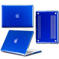 Wholesale Macbook Air 13 Cases - Matte Surface Crystal Rubberized Hard Shell Case Cover Air Pro Pro Retina 11 13 15 inch Crystal Case Cover For Macbook Laptop Bag