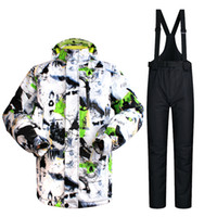 Wholesale Best Quality Ski Jackets - Wholesale-Winter New Best Quality Breathable and Waterproof Ski Jacket men Winter Ski Suit Snowboard Jacket Thicken cotton padded