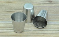 Wholesale Stainless Steel Shot Glass - wholesale Stainless steel shot glass 30 ML DHL Fedex Free Shipping