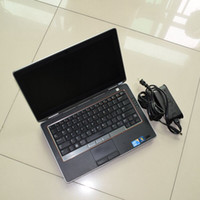 Wholesale Auto Diagnostic Software Laptop - auto Diagnostic laptop For DELL Laptop E6320 High configuration i5 cpu, 4g ram without hdd match MB star c4 c5 Icom a2 alldata tool