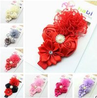 Wholesale Baby Products Sold Wholesale - European and American children's jewelry polygon rose hair band baby hair wholesale ebey selling products hd021