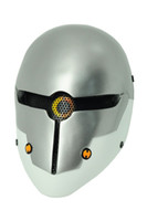 ingrosso la maschera completa della maglia di airsoft-Tactical Mask's Home GEAR M06 AIRSOFT PAINTBALL COSPLAY Rete metallica FULL FACE PROTECTION SKULL MASK Metal Gear Solid Grey Fox