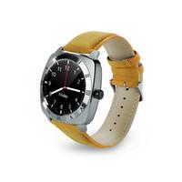 android watch оптовых-Новые умные часы X3 Шагомер Фитнес-часы Камера SIM-карта Mp3-плеер для Apple Android Watchphone
