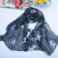 Wholesale Embellished Lace Headband - Elephant Scarf 160 * 50cm Autumn Vintage Silk Women Scarves Gorgeous Print Scarf Shawl Wrap Mix Color Free shipping 151120