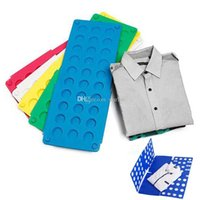 Wholesale New Enfoldment Panel Lazy Large Folding Clothes Board Quick And Easy Plastic Foldings Boards Household Goods High Quality WX C06