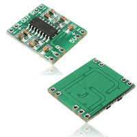 Wholesale 5v Power Amplifier - Digital DC 5V Amplifier Board Class D 2*3W USB Power PAM8403 Audio Module B00238 BARD