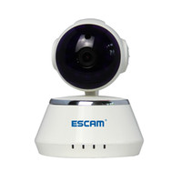 ESCAM Secure Dog QF510 HD 720P 1.0MP Pan / Tilt WIFI Onvif P2P alarma interior de infrarrojos domo cámara IP de detección de movimiento