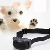 Wholesale Check Device - Dog Collars Automatically The Magisterium Check Barking Of Factory Small Pet Training Device The Dog Black ABS Nylon Adjustable Collar