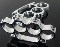 Wholesale Gear Gold - new GILDED THICK THICK 13mm STEEL BRASS KNUCKLE DUSTER color Gold plating silver knuckle duster brass knuckle clutch knuckle knives self