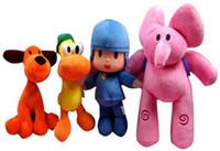 Wholesale Elly Doll - Hot Selling Pocoyo Stuffed Toys Elly Pato Loula Pocoyo Pelucia Dolls Plush Children Baby Kids Toys Birthday Gift
