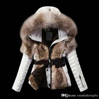 Wholesale Cheap Brand Hoodies - Fashion Winter Down Jackets Warm Women m Cold Slim Hoodies with fur Short Brand Designer monclar ladies Outdoor Outwear Coat Cheap Sale