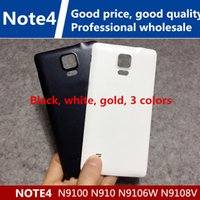 Wholesale Gold Battery Note - NEW OEM Battery Back Door Cover Case Housing Replacement For Samsung Galaxy Note 4 Note4 note4 N910F N910A N910T N910V