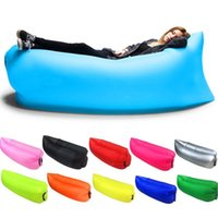Wholesale Travel Chairs Children - Inflatable Lounger Outdoor Air Sofa Indoor Inflatable Chair with Carry Bag Nylon Fabric