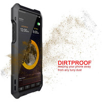 Wholesale Iphone Lens Set - Phone X phone case waterproof Anti-fall Dust shell With lens Three anti-set With a rotary lens Camera phones protective shell