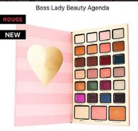 Wholesale Lady Easy Wear - Newest Boss Lady Beauty Agenda Eyeshadow don't let today be a waste of makeup Waterproof Matte 27 color Eye Shadow Palette high quality DHL