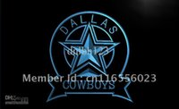 LD239-TM Dallas Cowboys Sport Bar Neon Light Signs Publicité