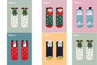 Wholesale Polar Bear Socks - New Cotton Winter Socks Christmas Adults Man woman Socks Penguins,Polar Bear,Santa Claus,Snowman,Christmas Tree 3D printing socks C1532