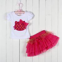 Wholesale Tz Dress - Wholesale- Girls dresses baby girl princess lace dress 2015 new children casual cute clothing kids fashion clothes TZ-A020