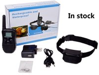Wholesale Product Levels - 300 Yard Rechargeable 100LV Shock Vibra waterproof Remote Dog Training Collar 998DR 1 Collar 100 Level of Vibration