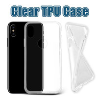 For Apple iPhone TPU Transparent For iPhone 8 Thick TPU Case Samsung Note 8 Cases Galaxy S8 Plus Clear Soft TPU Case High Quality 1.0mm Soft Transparent gel Case Opp Bag
