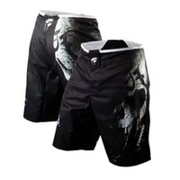 шорты мужские оптовых-Мужские шорты Mma Боксерские сундуки Bad Bo Fight Shorts Боксерские штаны Джиу-джитсу Муай тай Брюки Тонкие муай тай тренировочные шорты