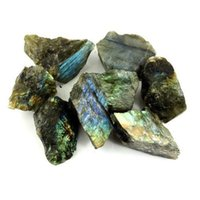 "Wholesale Rough Black Stone - 1 2lb Wholesale Rough Labradorite Stones from Madagascar - Large 1""+ Raw Natural Crystals for Cabbing, Cutting, Lapidary, Tumbling, and Poli"