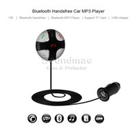 speaker building kits - Bluetooth Handsfree Car Kit MP3 Player Receiver A2DP Wireless FM Transmitter with USB Car Charger Built in MIC Speaker TF Card