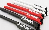 Wholesale Carbon Fiber Bike Tubes - Wholesale-Road Bike parts Carbon fiber bicycle seat tube Time Carbon Seatpost 27.2 30.8 31.6mm