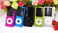 Wholesale pink mp3 player video for sale - Group buy New quot LCD Screen MP3 MP4 Multi Media Video Player Music FM Radio th Gen with TF SD card slot for gGB TF Card with box