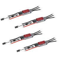 Wholesale Esc For Airplane - 4Pcs Original ZTW Spider Series OPTO Brushless Speed Control ESC 30A 2-6S Lipo for DJI F450 F550 Multicopter Qudcopter Airplane RM1017