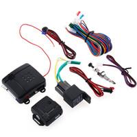 ingrosso dispositivi portatili-Sistema di allarme auto programmabile intelligente antifurto LB - 100D Dispositivo di allarme antifurto universale doppio con indicatore LED