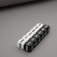 Wholesale Funny Sex Gifts - 1 Pair Black White Sex Dice Foreplay Adult Games English Words Erotic Craps Party Funny Sex Gifts Sex Toys for Couples 0701