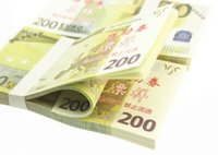 Wholesale Types Money Plants - 200 Euro Notes Training Collect Learning Banknotes Paper Money 100pcs lot