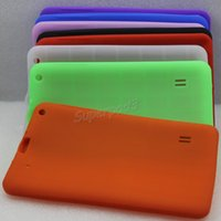 Wholesale Cheap Cases For Android Tablets - Freeshipping DHL Wholesale Cheap Soft Silicone Rubber Protective Back Cover Case For A33 9 Inch Android Tablet PC Case Solid Multi Colors
